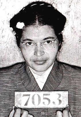 Rosa Parks Arrest Booking Photo