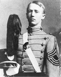 George Patton while at West Point