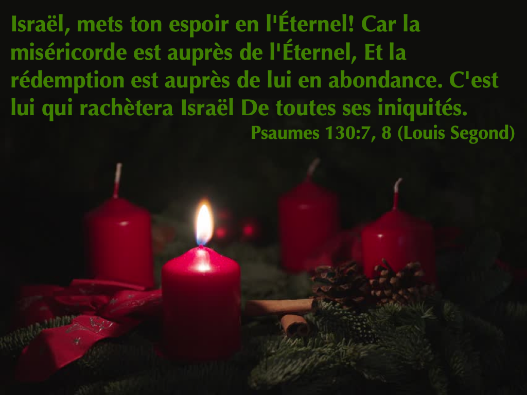 Psaumes 130:7-8
