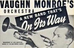 Post AD for Vaughn Monroe