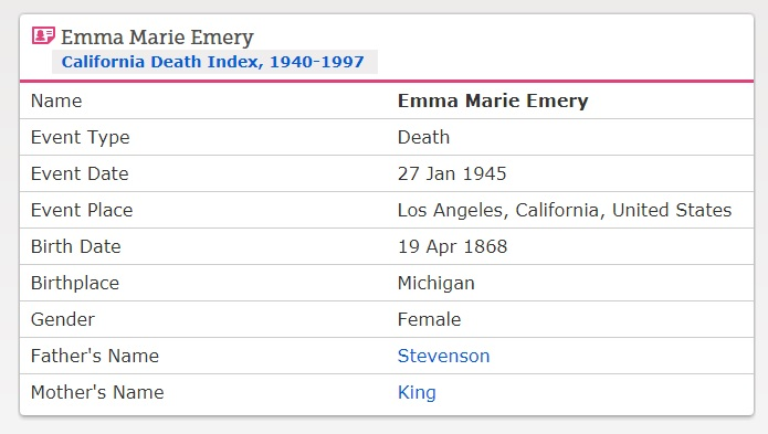Emma Emery Images, page 1