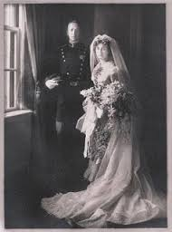 George and Beatrice Patton Wedding Photo