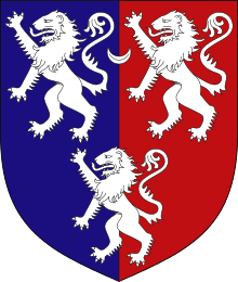 Arms of the Earl of Carnarvon