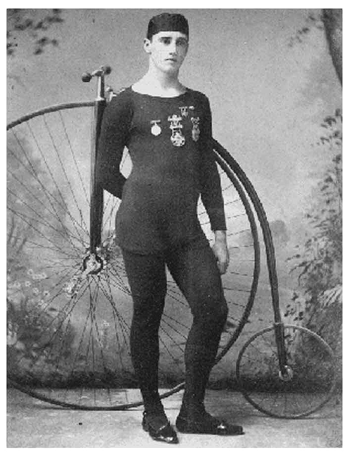 U.S. National Amateur High Wheel Bicycle Racing Champion 1896 - 1892