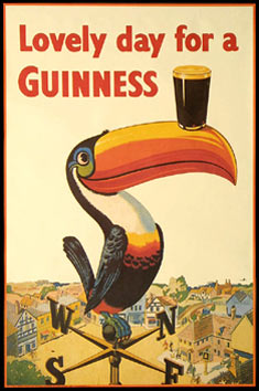 Lovely Day for a Guinness poster