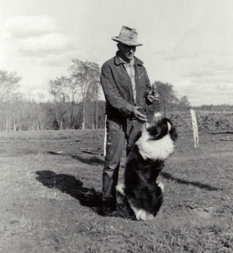 Grandpa and his dog