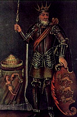 Brian Boru, High King of Ireland, from 18th c. depiction.