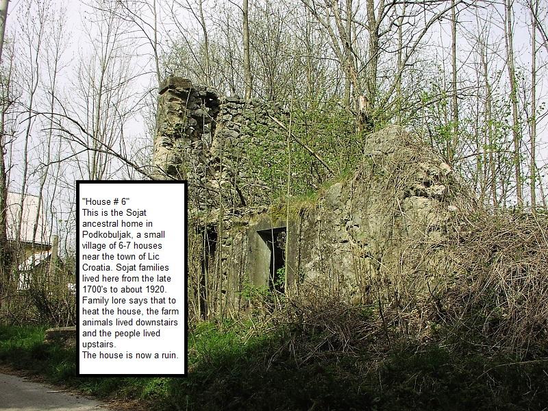 Sojat Ancestral Home in Podkobuljak Croatia