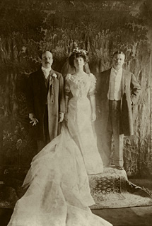 1906 Wedding in White House