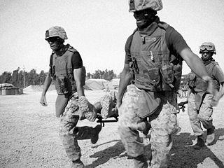 Marine CASEVAC Fallujah