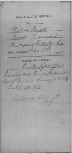 William Poynter (abt 1830-1863) | WikiTree FREE Family Tree