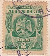 Mexican Stamp 1909