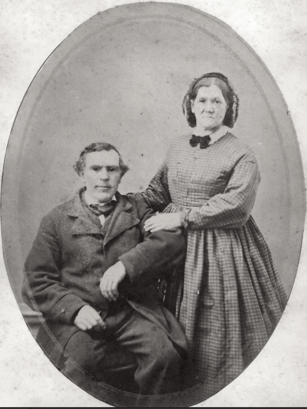 Patrick Golden and wife, Mary McDonough immigrants from Boyle, Roscommon, Ireland.
