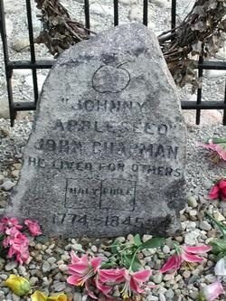 Johnny Chapman Memorial Marker