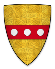 William Huntingfield coat of arms