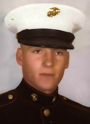 Gary Winters in the U.S. Marine Corp. - Winters-1329