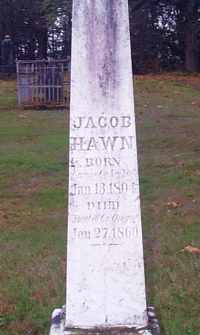Jacob Hawn 1804 1860 Wikitree Free Family Tree