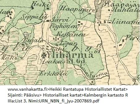 Mikko Mikonpoika Hallberg Harsila Harsila 1805 1846 Wikitree