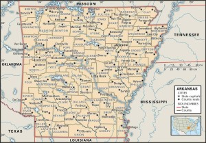 Counties of Arkansas