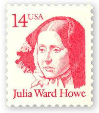 Julia Ward Howe Postage Stamp