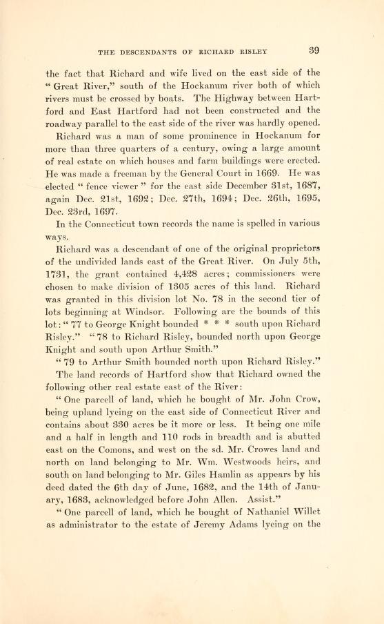rebecca  adams  risley  1658