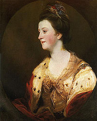 Lady Emilia ( Lennox) Fitzgerald, Duchess of Leinster