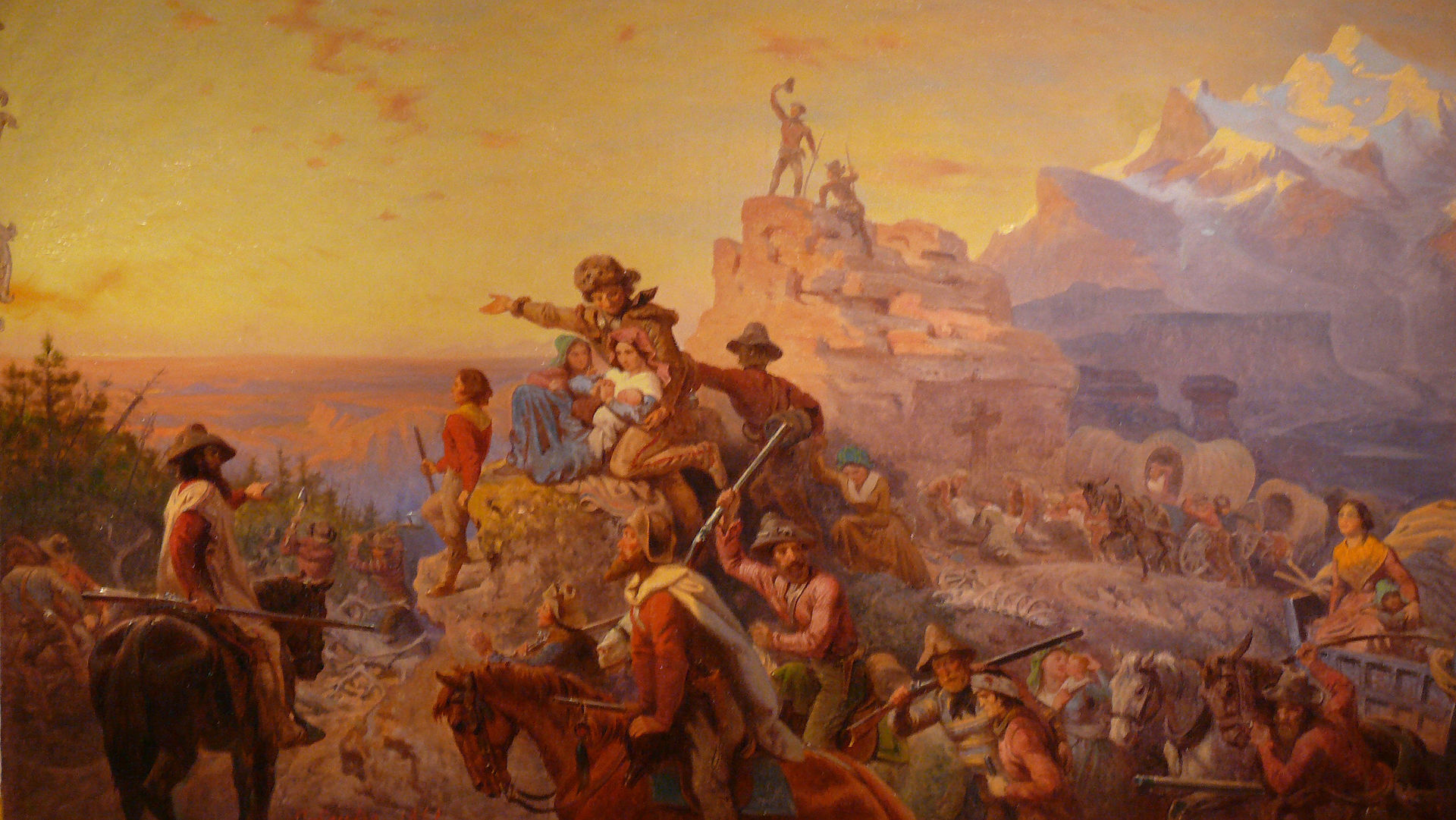 the manifest destiny history in the united states Westward expansion was the 19th-century movement of settlers, agriculture and industry into the american west learn about the louisiana purchase, manifest destiny, the gold rush and more.