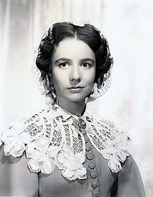 Alicia Rhett as India Wilkes in