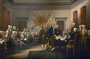 John Trumball's Painting of the Founding Fathers