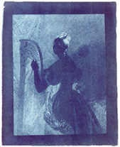 Example of a Cyanotype