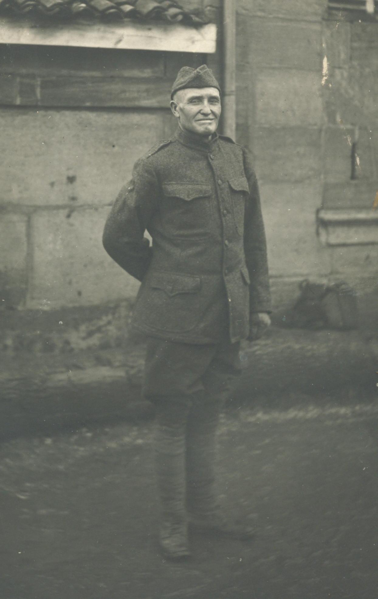 William Arthur Shaules in France
