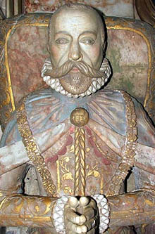 The Tomb Effigy of Sir Francis Knollys