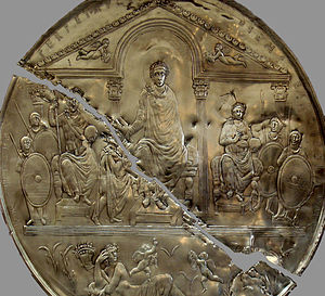 Emperor Flavius Theodosius I the Great