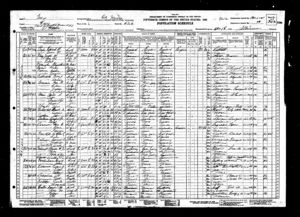 1930 Census for Walter Cronkite Family