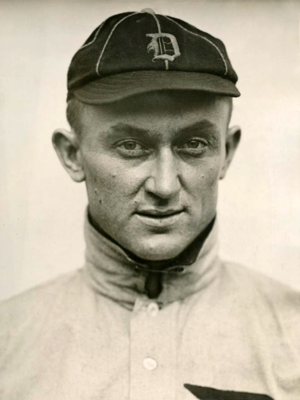 Ty Cobb portrait photograph