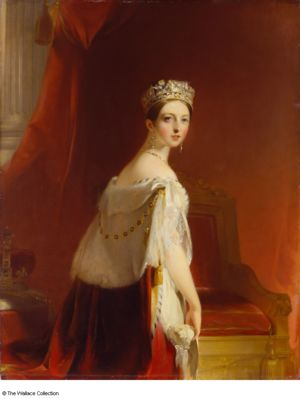 Portrait of Queen Victoria, by Thomas Sully