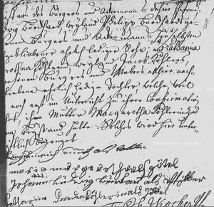 Birth and baptism record