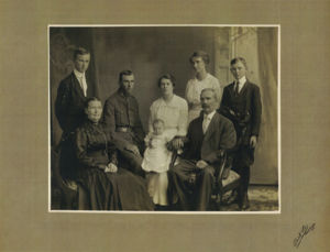 Robert and Emma Friedericke Brown Family Portrait
