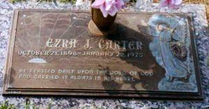 Ezra J Carter 1888 1975 Wikitree Free Family Tree