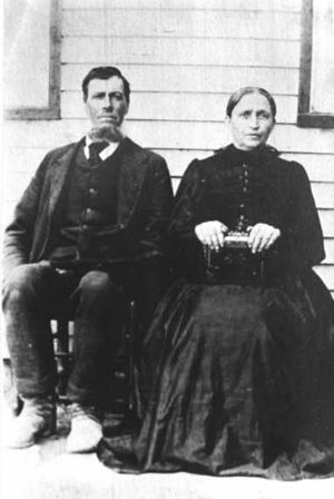 Sanson and Sarah Musgrave Hinkle