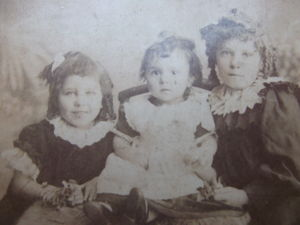 Lily, Ethel and Agnes Brown