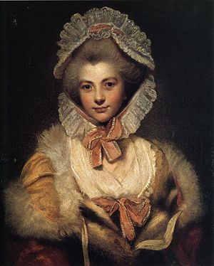 Lavinia, 'The Countess Spencer,' by Sir Joshua Reynolds.