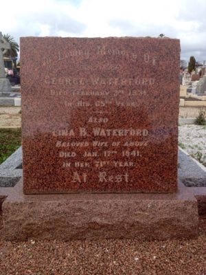 Waterford Headstone
