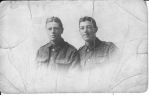 John Percival Brown (left) with his brother Bert