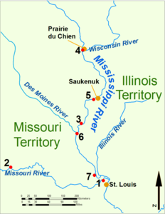 War of 1812 Illinois Territory