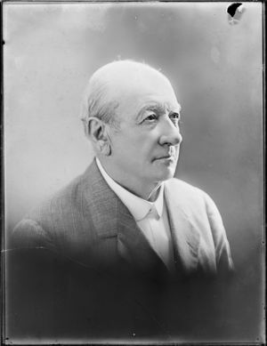 Architect Edward Bartley in 1909