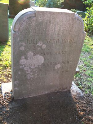 Grave of Julia Ward Howe