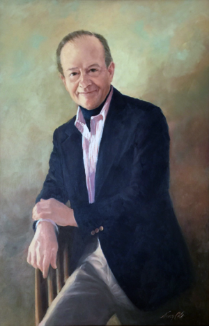Portrait of James Franklin Sirmons by Nancy Cole