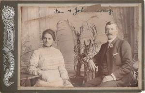 Fanny nee Adams and John Mcharg