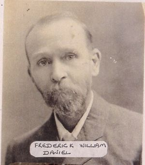 Photo of Frederick William Daniel